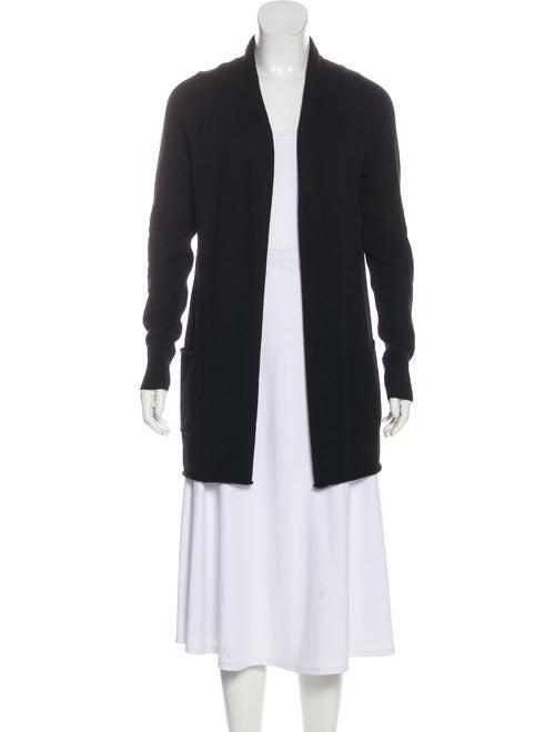 360 Cashmere Long Sleeve Cashmere Cardigan Black