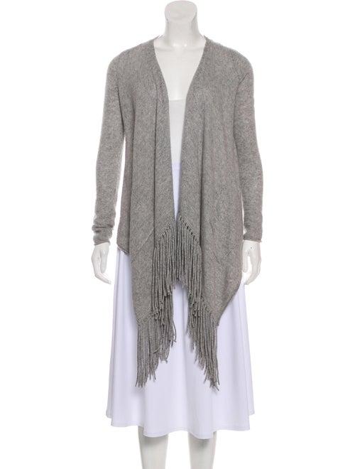 360 Cashmere Cashmere Knit Cardigan Grey