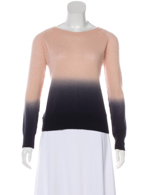 360 Cashmere Cashmere Bateau Neckline Sweater Pink