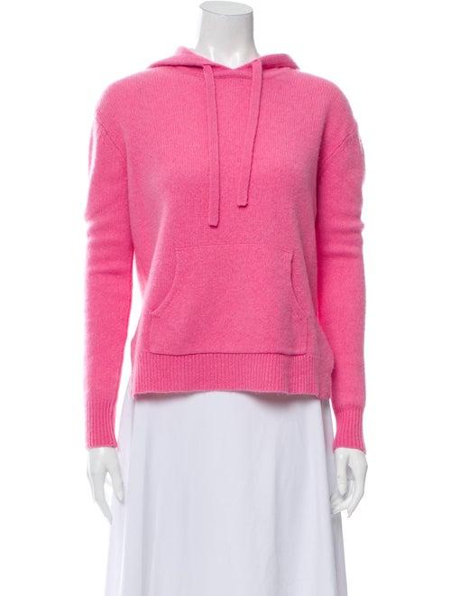 360 Cashmere Cashmere Crew Neck Sweater Pink