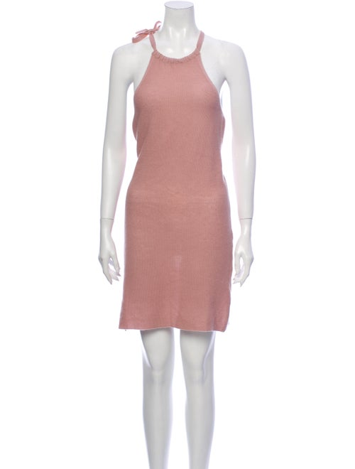 360 Cashmere Cashmere Mini Dress Pink