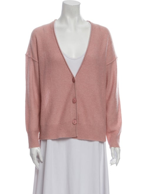 360 Cashmere Cashmere V-Neck Sweater w/ Tags Pink