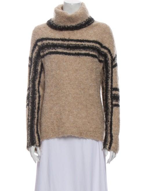 360 Cashmere Alpaca Striped Sweater