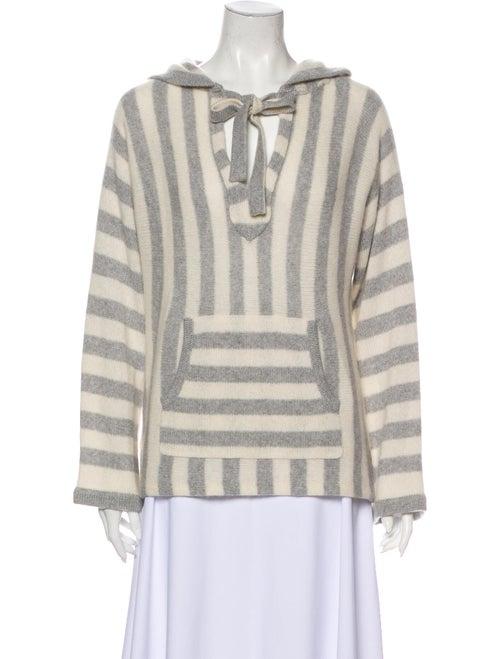 360 Cashmere Cashmere Striped Sweater