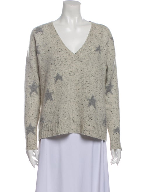 360 Cashmere Cashmere Printed Sweater - image 1