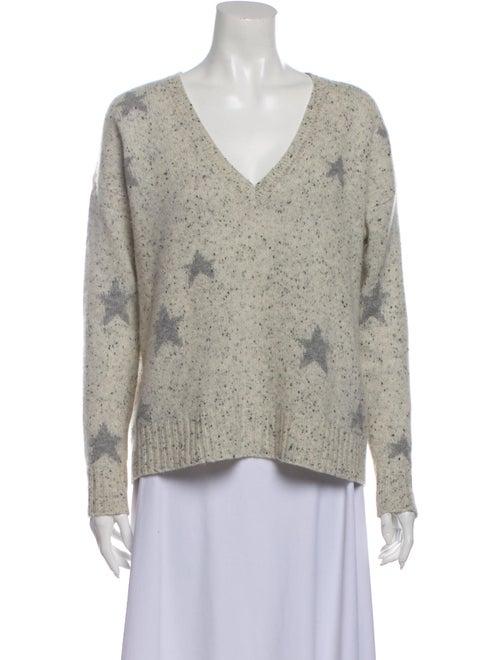 360 Cashmere Cashmere Printed Sweater