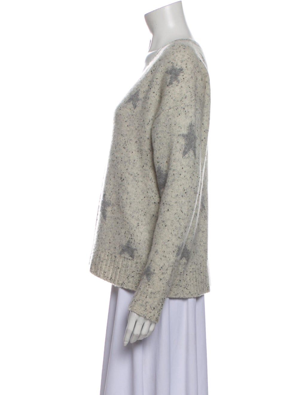 360 Cashmere Cashmere Printed Sweater - image 2