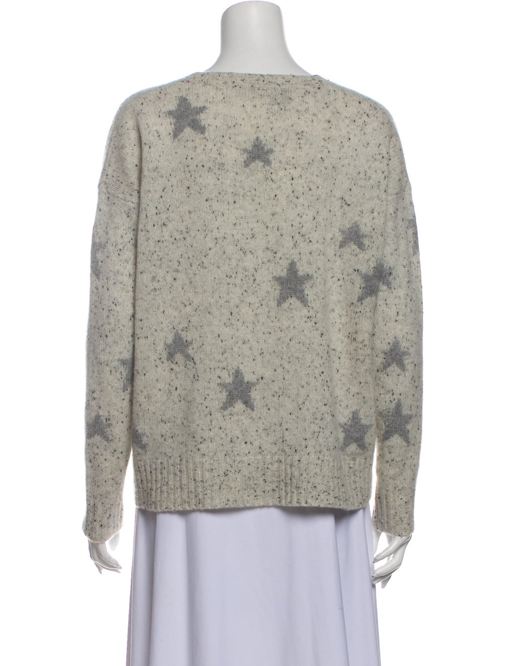 360 Cashmere Cashmere Printed Sweater - image 3