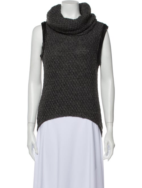 Shui Chen Turtleneck Sweater Grey