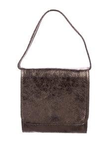 8f85bf31cd69da Carrie Forbes. Metallic Leather Mini Bag