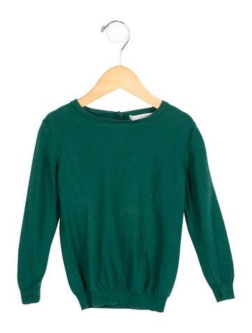 Caramel Baby & Child Girls' Long Sleeve Crew Neck Sweater None