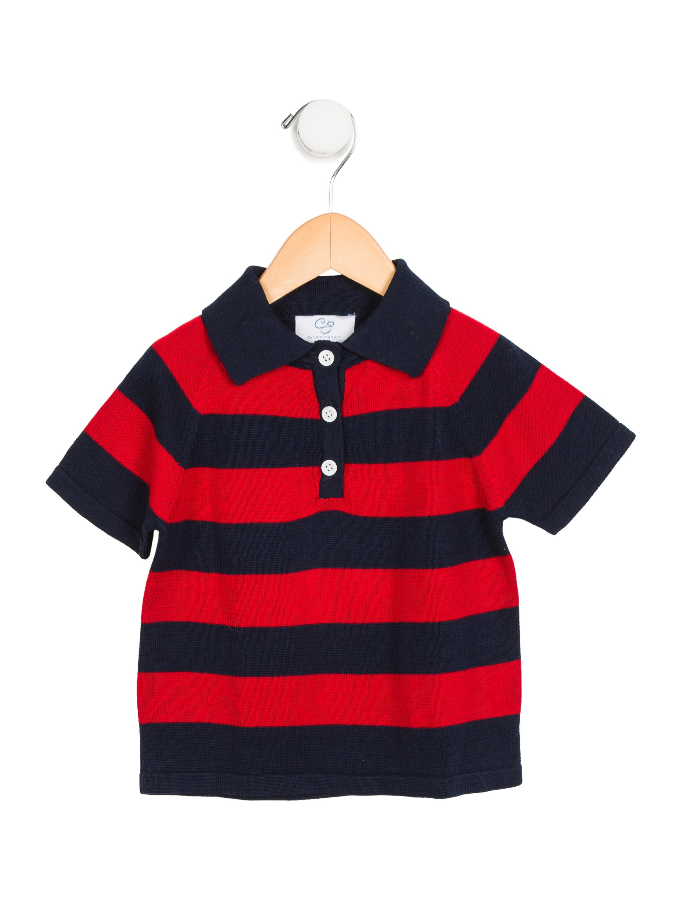 Cz by carolina zapf boys 39 striped polo shirt boys for Boys striped polo shirts