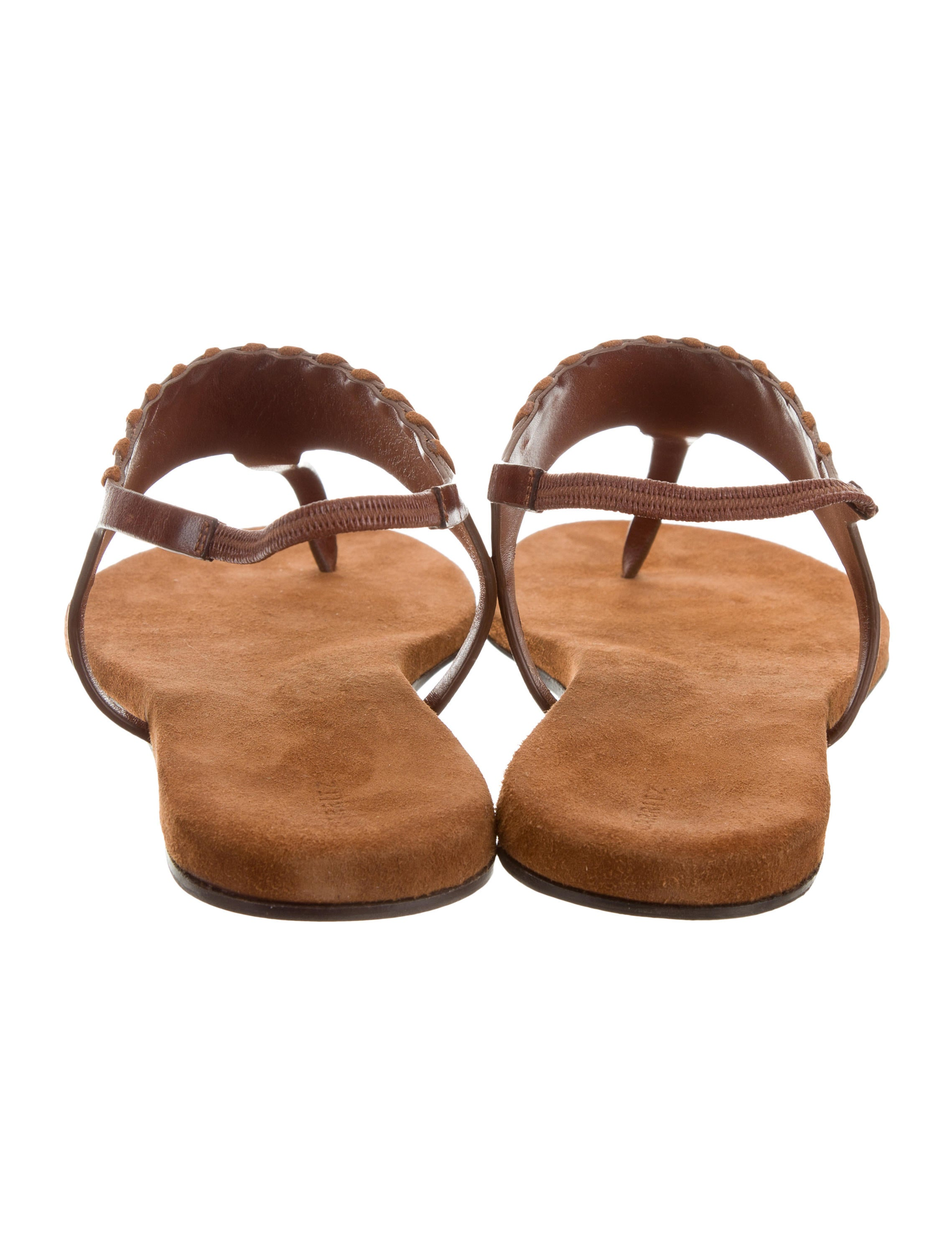 buy for sale Carritz Salome Leather Sandals w/ Tags cheap view Nw8OM