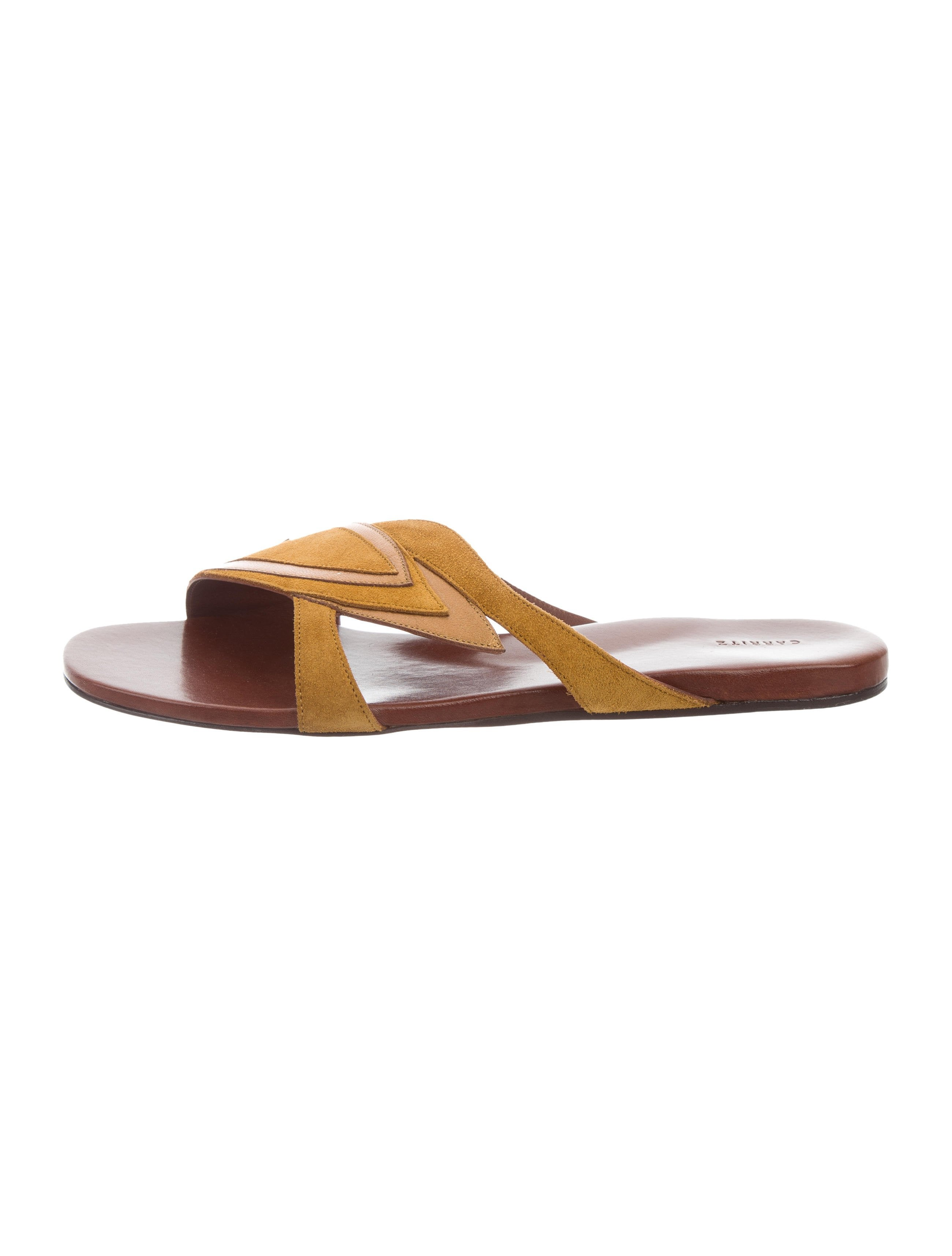 Carritz Suede Slide Sandals for nice great deals cheap online cheapest price online popular cheap online 5Q7CYZPG