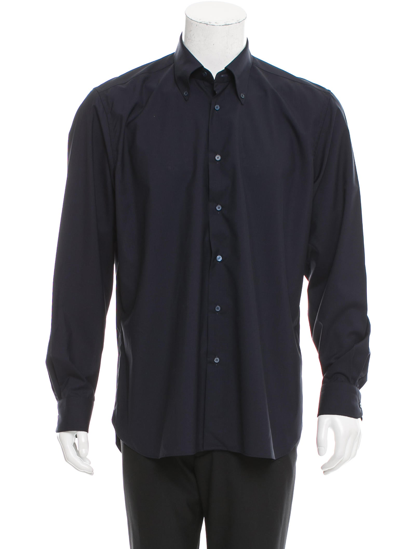 Caruso Wool Button Up Shirt Clothing Wcaru20008 The