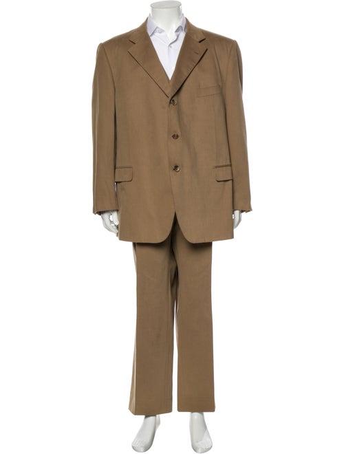 Caruso Three-Piece Suit Brown