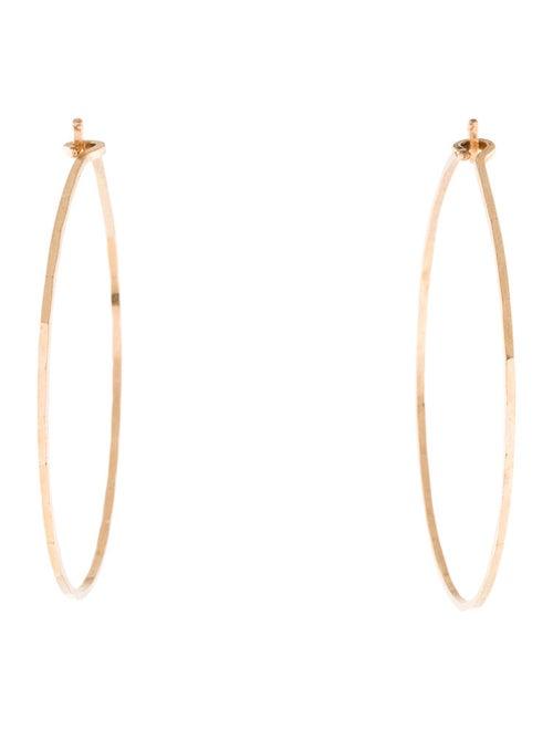 9b8bf97518a20 Catbird 14K Big Hoop Dream Earrings - Earrings - WCATB20057 | The ...