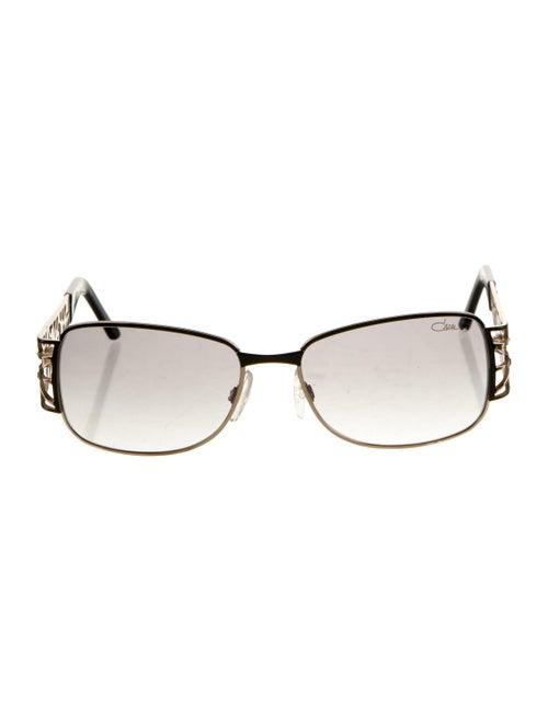 Cazal Square Tinted Sunglasses black