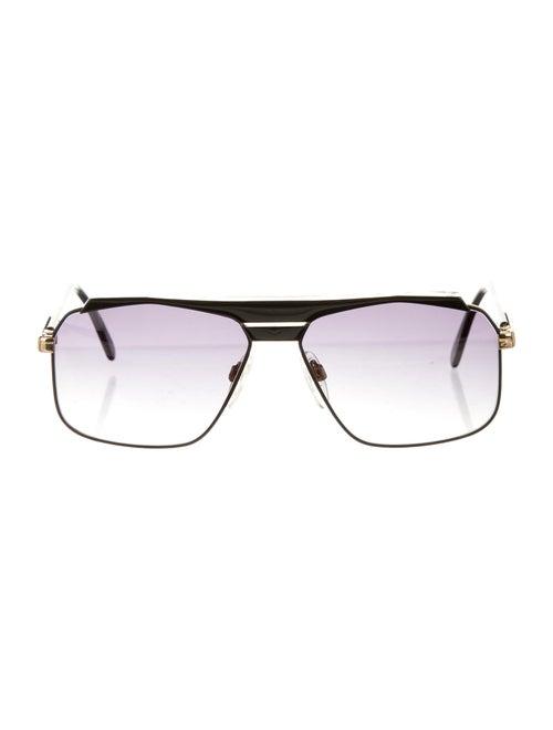 Cazal Gradient Square Sunglasses black