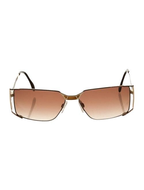 Cazal Square Tinted Sunglasses gold