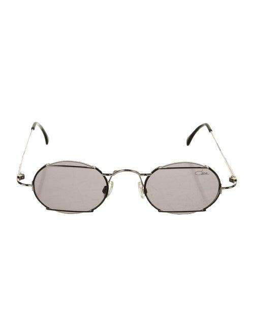 Cazal Round Tinted Sunglasses Silver
