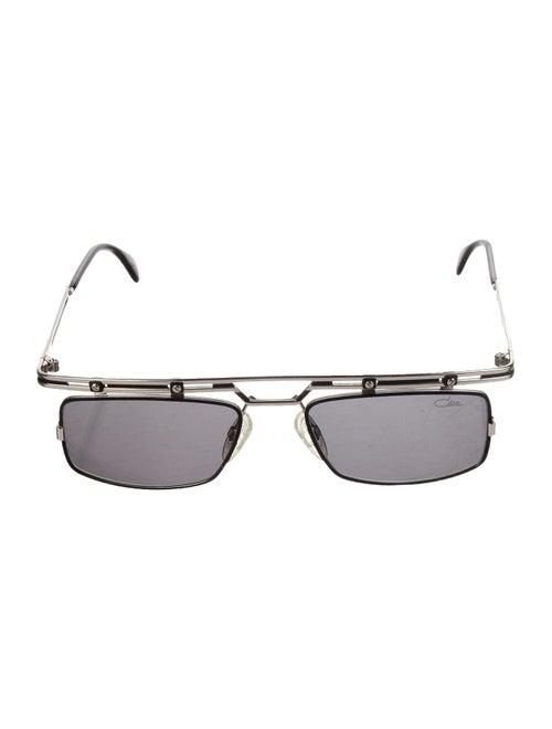 Cazal Square Tinted Sunglasses silver
