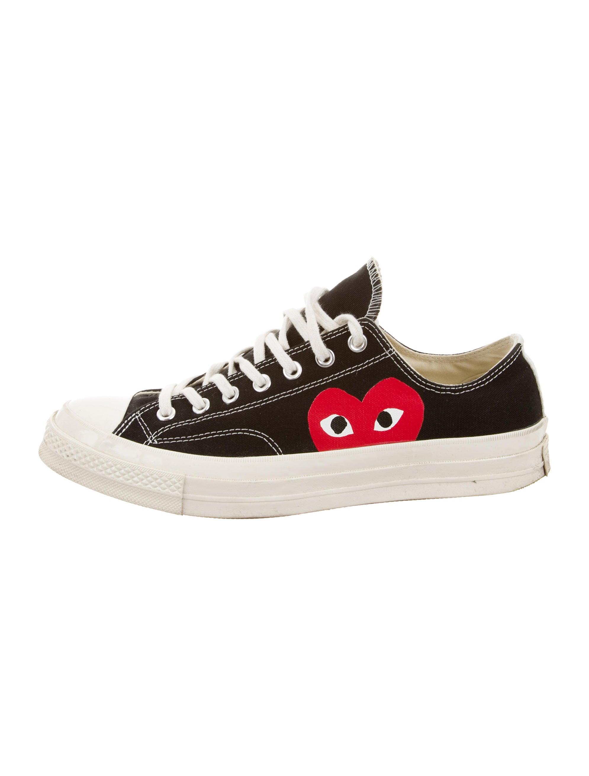 3aea9f80fb8b Comme des Garçons Play x Converse Canvas Low-Top Sneakers - Shoes ...