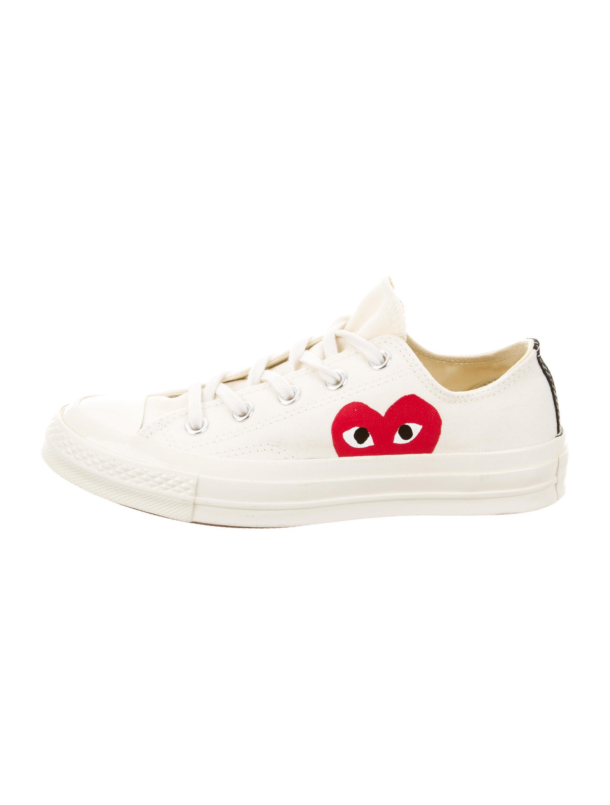 7ef5db2cc1a4fe Women · Shoes  Comme des Garçons Play x Converse Canvas Low-Top Sneakers.  Canvas Low-Top Sneakers