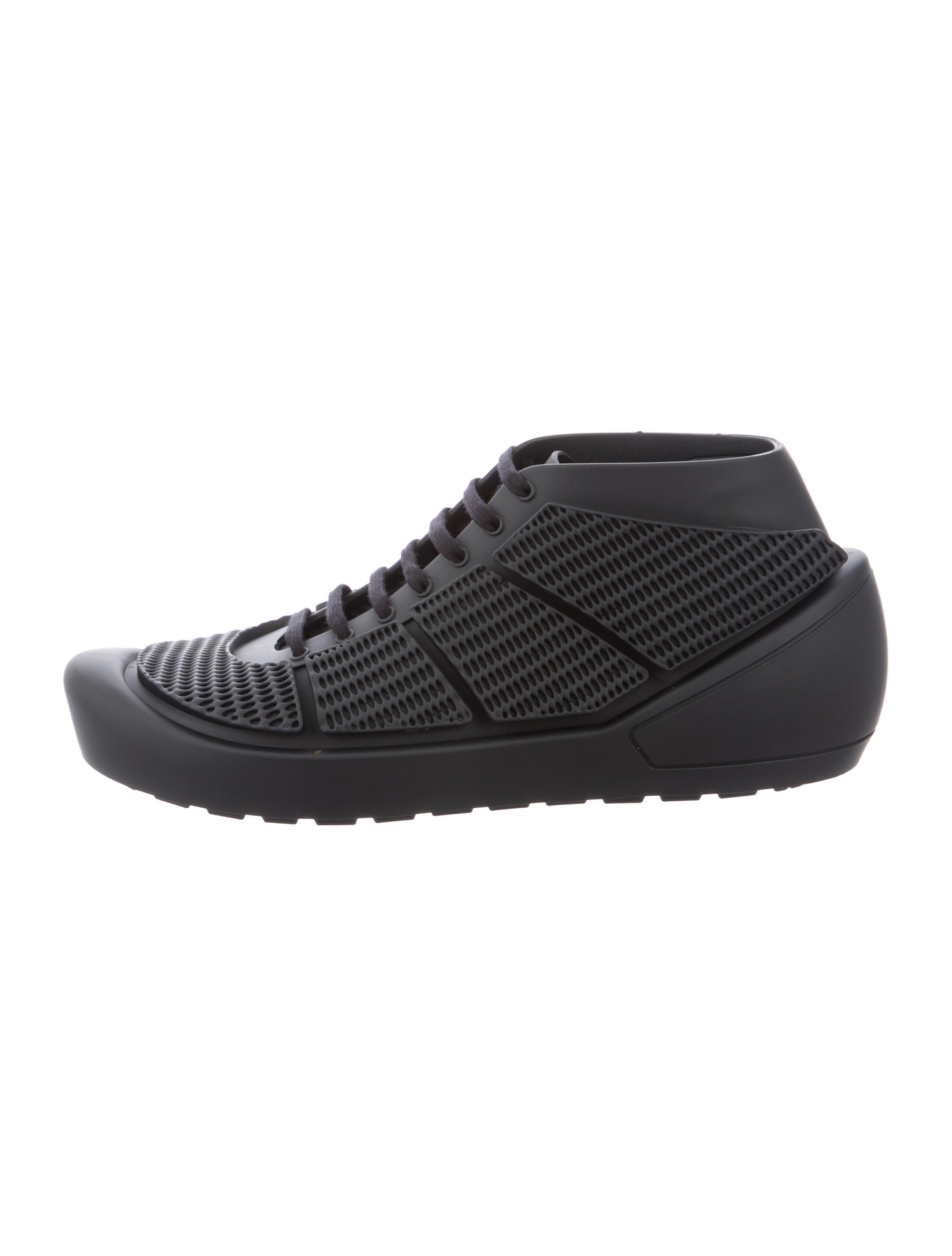 9dd01b23302c12 Comme des Garçons Homme Plus x Melissa 2018 Rubber Sneakers w  Tags ...
