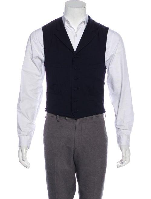 Comme des Garçons Homme Plus Wool Suit Vest navy