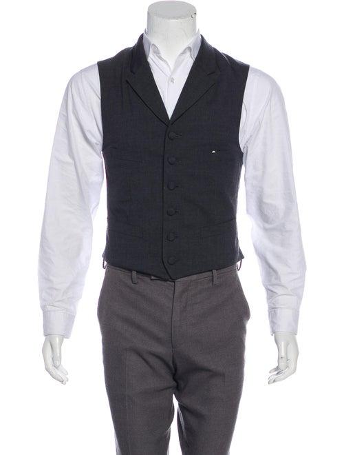 Comme des Garçons Homme Plus Wool Suit Vest black