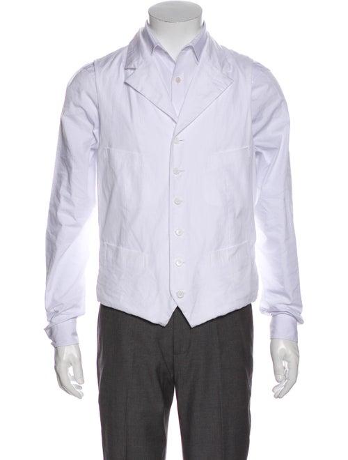 Comme des Garçons Homme Plus 2015 Suit Vest White