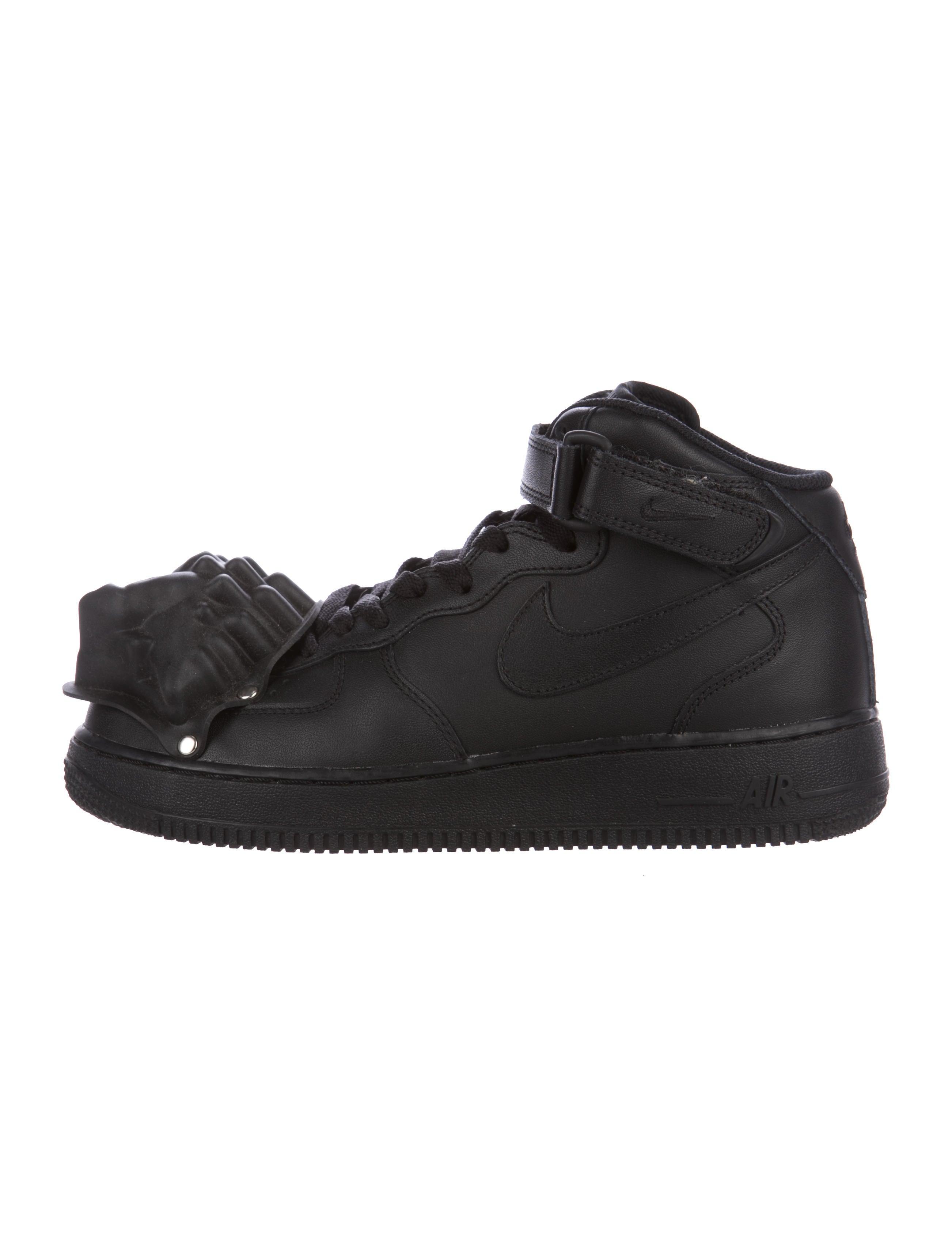 Comme des Garçons x Nike Air Force 1 Custom Sneakers Shoes