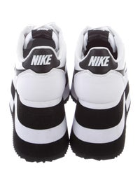best service 9c677 0a5cd Comme des Garçons x Nike Cortez Platform Sneakers - Shoes ...