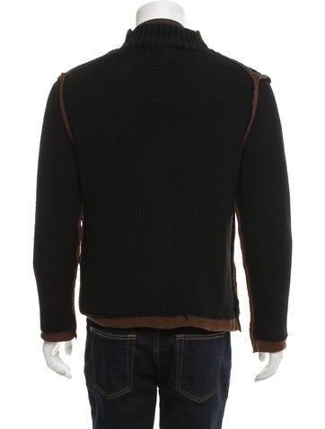 Layered Wool Sweater