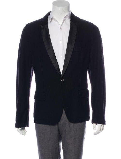 Comme des Garçons Shirt Felted Wool Tuxedo Jacket