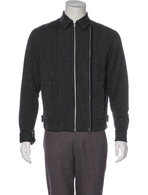 Comme des Garçons Shirt Wool Coaches Jacket black