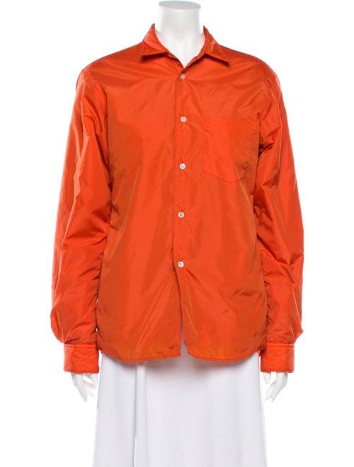 Comme des Garçons Shirt Jacket Orange