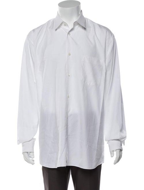 Comme des Garçons Shirt Long Sleeve Shirt White
