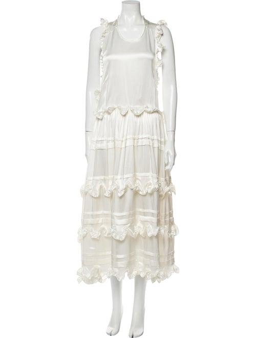 Cecilie Bahnsen Silk Midi Length Dress