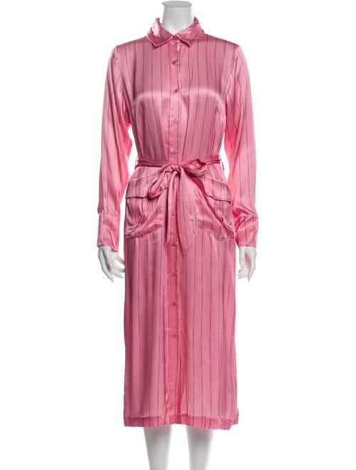Cecilie Copenhagen Midi Length Dress Pink