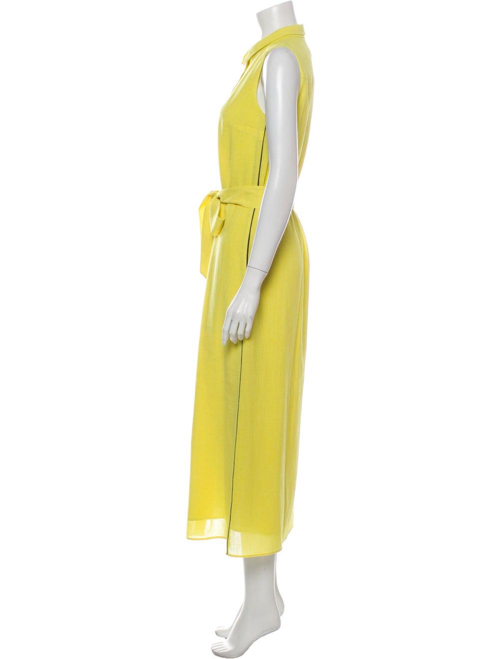 Cefinn Long Dress Yellow - image 2