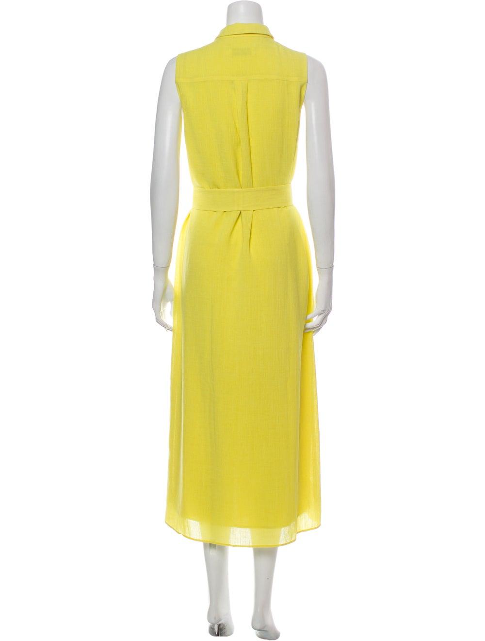 Cefinn Long Dress Yellow - image 3