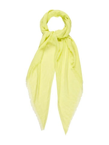 Chan Luu Chartreuse Scarf None