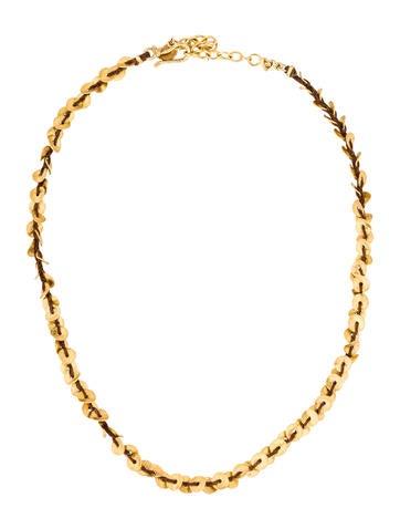 Chan Luu Woven Disc Collar Necklace None