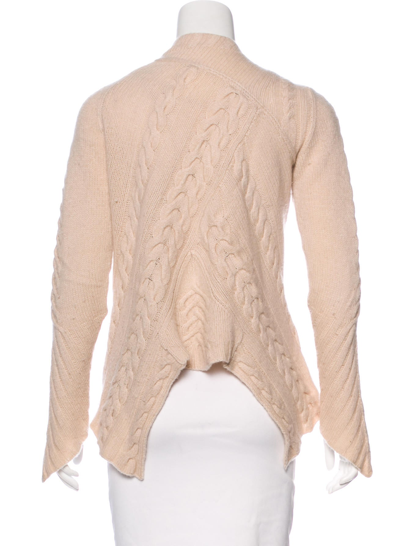Chan Luu Cashmere Cable Knit Cardigan - Clothing - WCF21164 | The ...