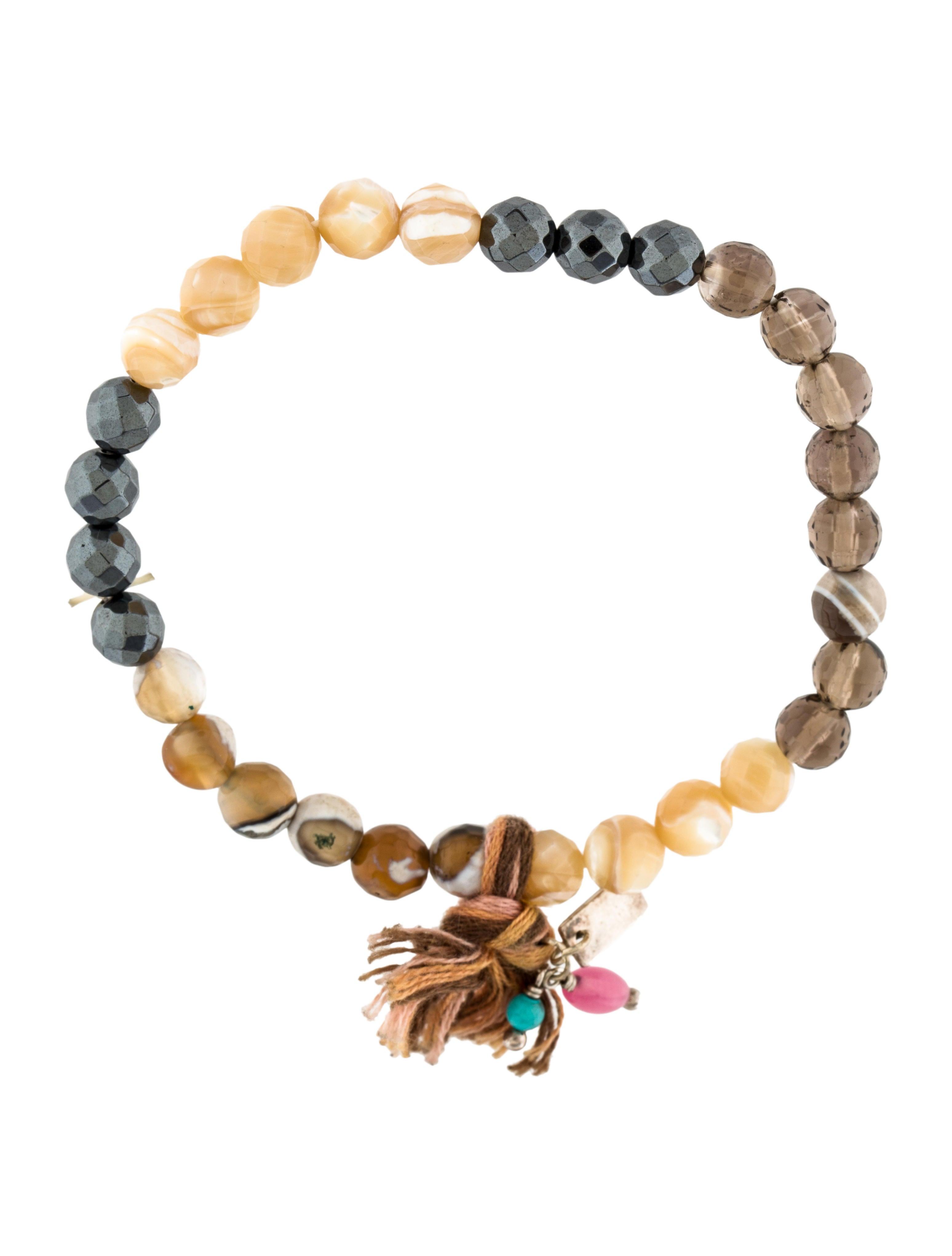 chan luu multistone bead stretch bracelet bracelets