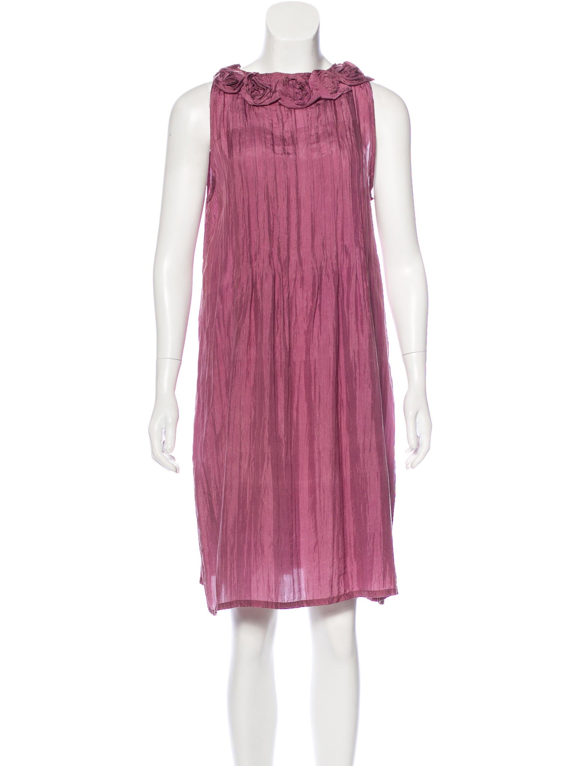 6fbb93347b05 Chan Luu Silk Shift Dress - Clothing - WCF21315 | The RealReal