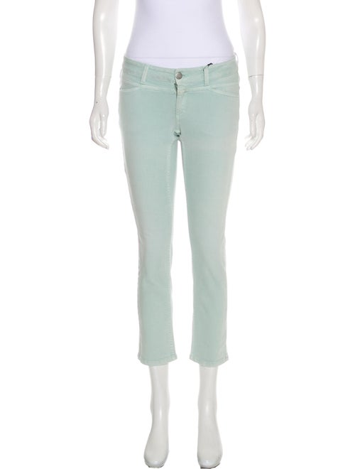 Closed Low-Rise Straight Leg Jeans w/ Tags Blue