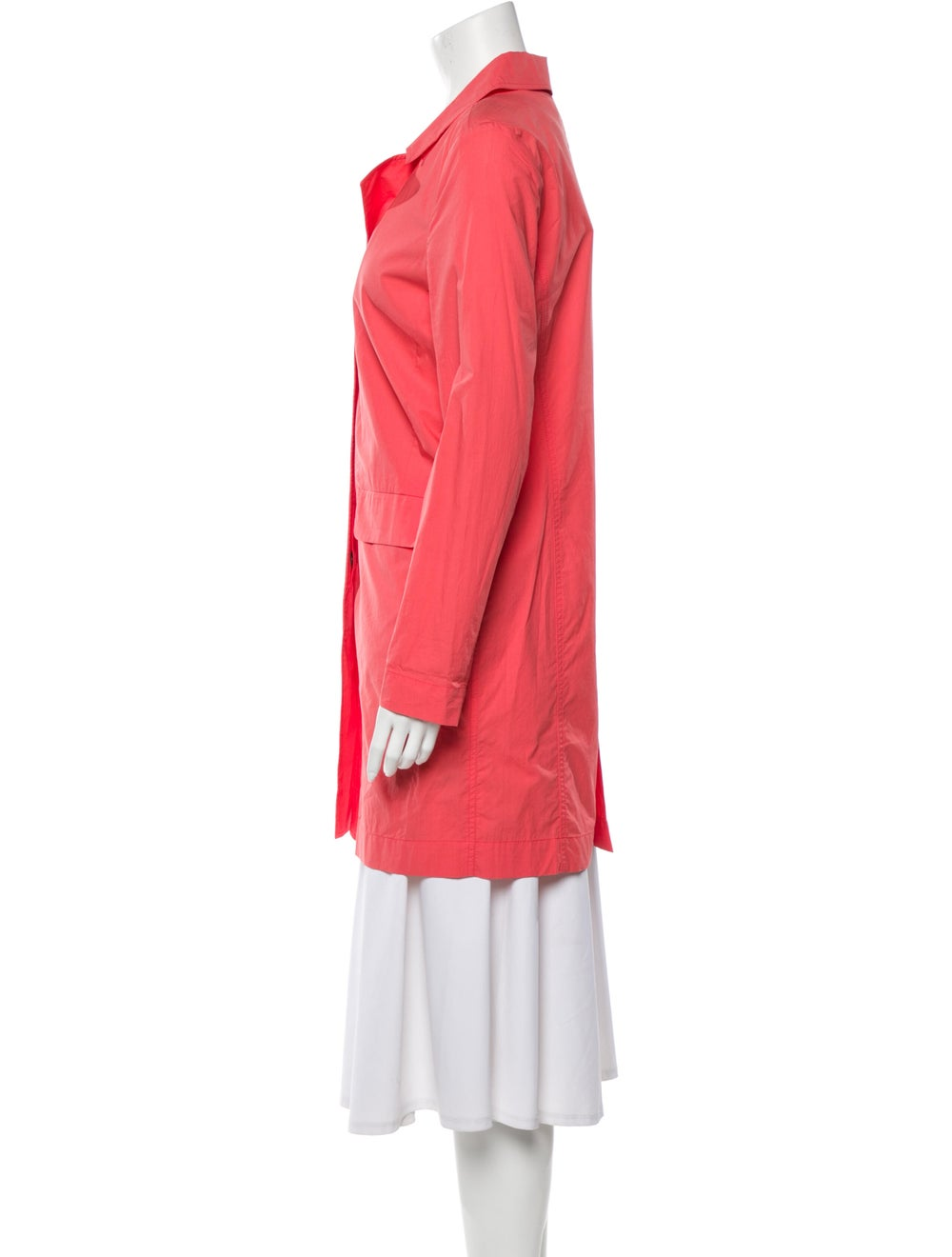 Closed Trench Coat Pink - image 2